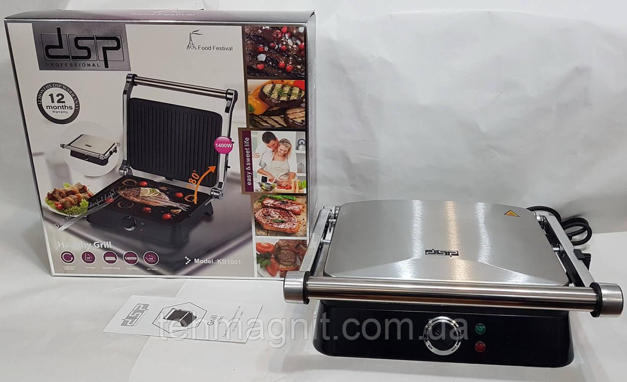 Гриль электрический DSP KB1001 Health Grill, электрогриль ( 1400W )