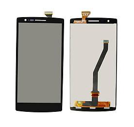 Дисплей для OnePlus One | A0001 с сенсорным стеклом (Черный) Оригинал Китай