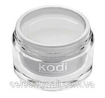 Гель для наращивания ногтей моделирующий снежно белый (Kodi UV BUILDER GEL WHITE SNOW),   28 мл