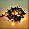 Гирлянда новогодняя для ёлки. 100 лампочек. Длинна 3 метра. Разноцветная