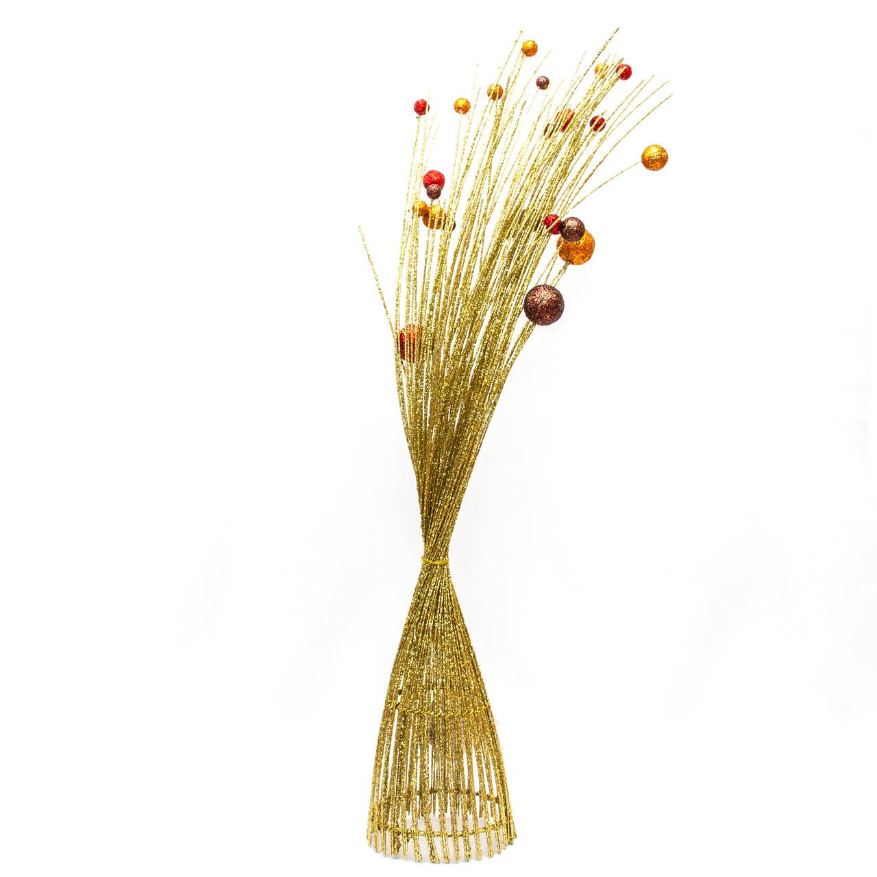 Дерево-ваза 60см, золото с другими (770045-7)