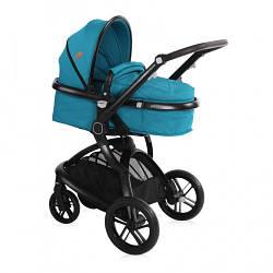 Детская коляска трансформер Lorelli Lumina (dark blue)