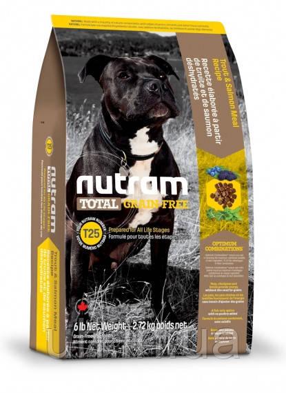 Nutram Total беззерновой корм для собак с лососем и форелью 11.3КГ