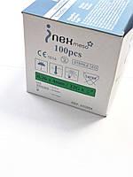 Голки для ін'єкцій мезотерапії INex meso 32G*4 100 шт/уп
