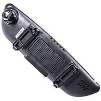 Зеркало видеорегистратор Lesko 7 Car H803 / H560 камера заднего вида Черный