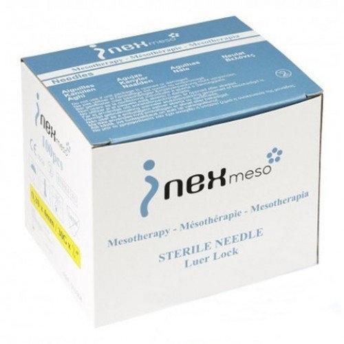 Голки для ін'єкцій мезотерапії INex meso 30G*6 100 шт/уп