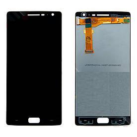 Дисплей для OnePlus Two | А0002 с сенсорным стеклом (Черный) Оригинал Китай