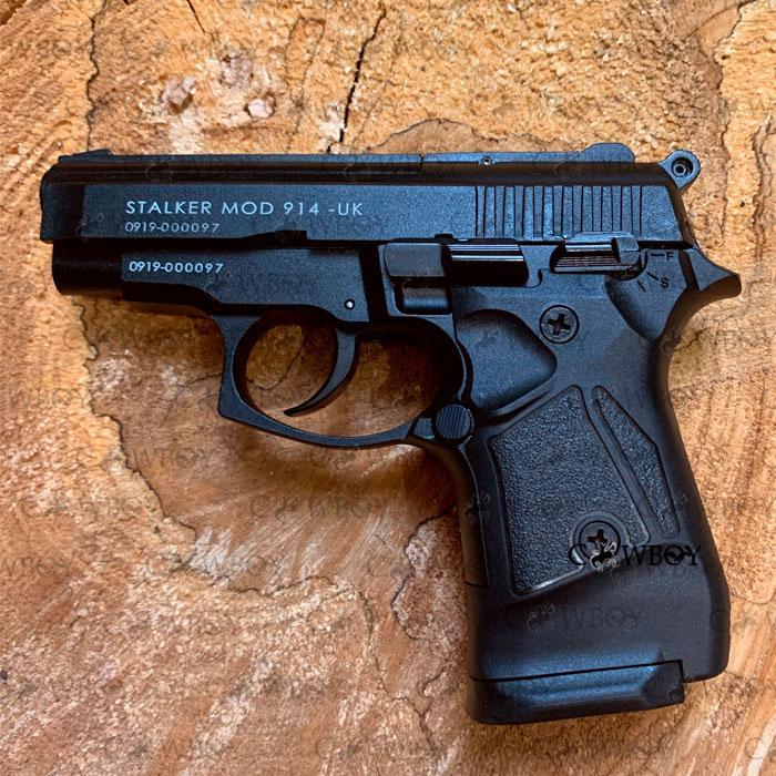 Стартовый пистолет Stalker 914, черный