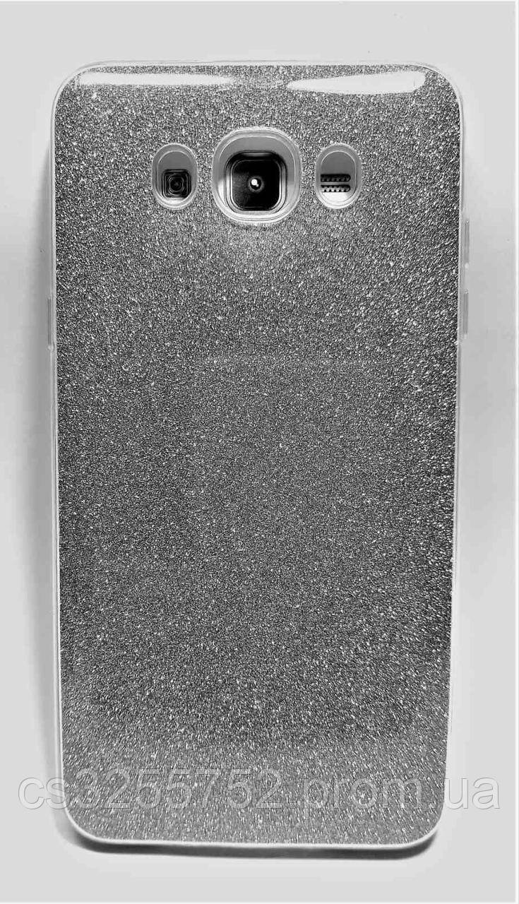 Силикон Dream для Samsung J710 Silver