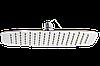 Душ верхний 300х200 мм Овал (КА-3020 ), фото 2