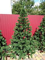 Новогодняя искусственная елка Карпатская (2,2 метра), фото 1