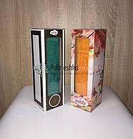 Махровое полотенце в коробке для лица