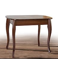 Компактный, кухонный стол из массива дерева - Кантри( Размер: 930+300х670 мм)