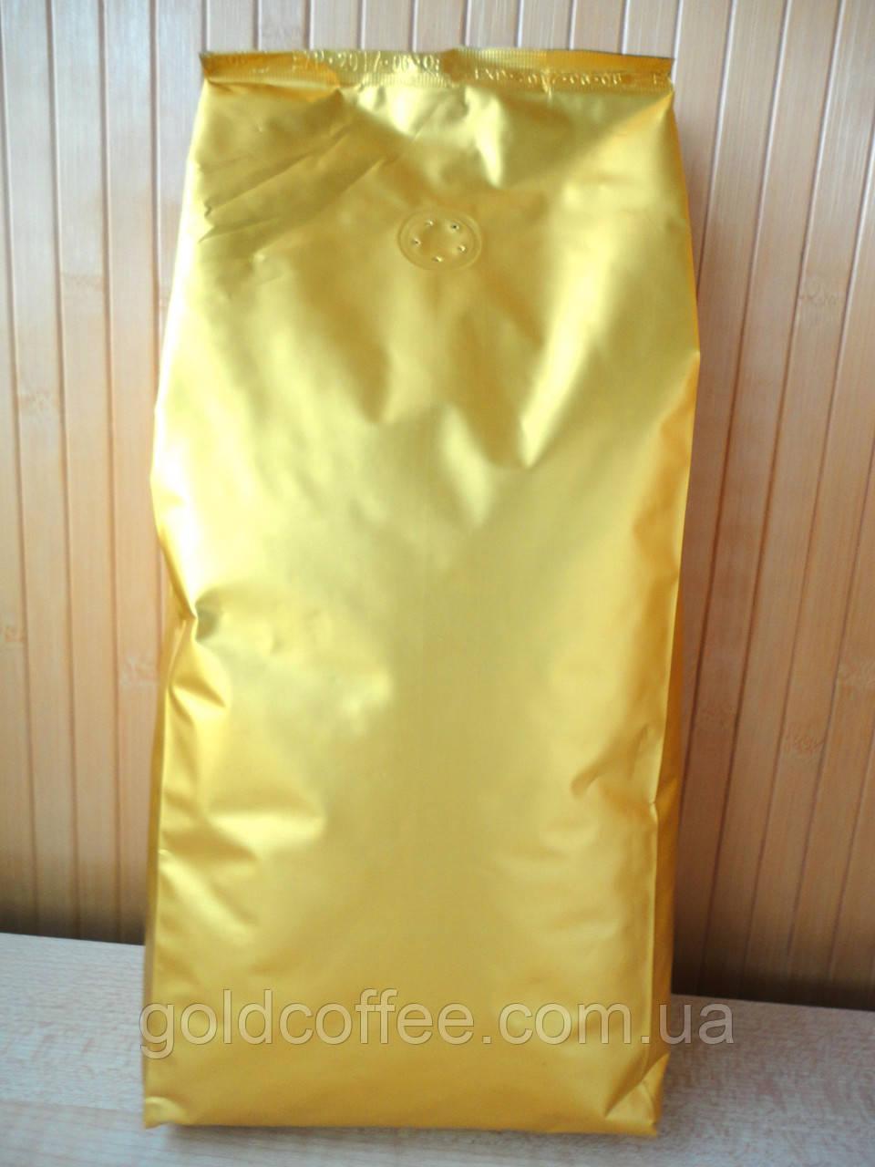 Кава в зернах Gold DEC, без кофеїну 1 кг