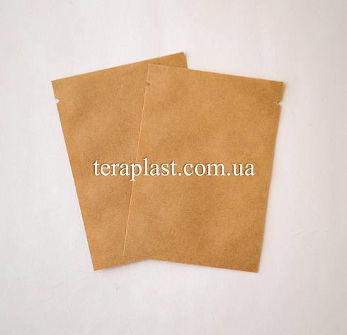 Пакет саше  крафт для пробников 70х100 без зип, фото 2
