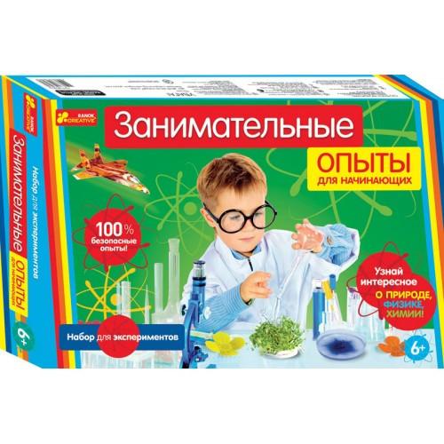 Набор для экспериментов Занимательные опыты для начинающих Ранок  12114020Р