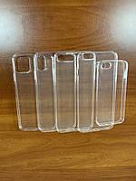 Чехол Silicone силиконовый прозрачный для iPhone 5/SE/6/6s/7/7+/8/8+/X/Xr/Xs/Xs