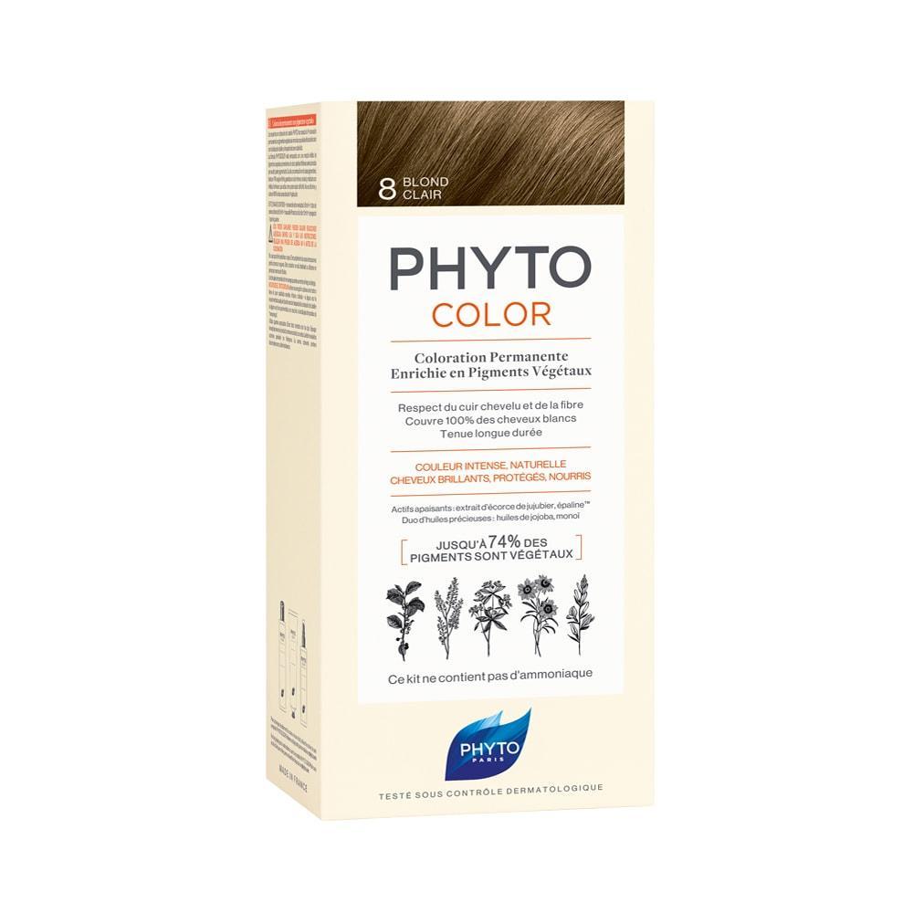 Фіто Фитоколор крем-фарба Phyto PHYTOCOLOR COLORATION ТОН 8