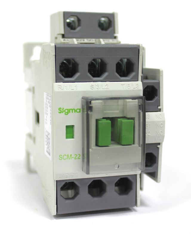 Контактор магнитный пускатель 3 полюса 3 фазы магнітний пускач 4 кВт 5.5 кВт 7.5 кВт 11 kWt sigma сігма сигма турция turkey