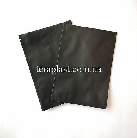 Пакет саше 30г черный 120х170 без зип, фото 2