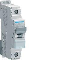 Автоматический выключатель HAGER 10А, 1п, С, 10 kA, 1м, NCN110