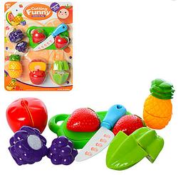Игрушечные продукты на липучке.Детский игровой набор,продукты.Детские игрушки продукты.