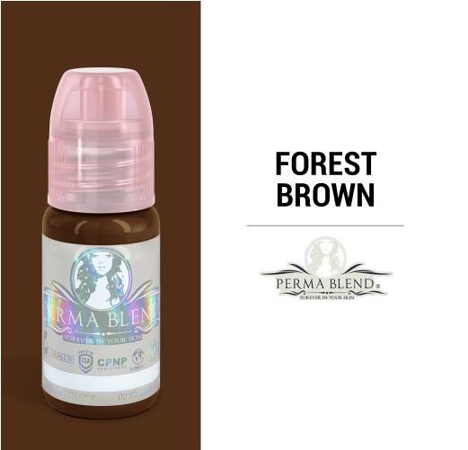 Пигмент для татуажа Perma Blend Forest Brown 15 мл (1/2 Oz)