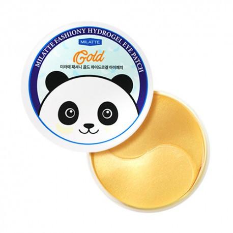 Золотые патчи под глаза Milatte Fashiony Gold Hydrogel Eye Patch 60 шт (8809535260031)