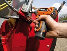 Импульсный аккумуляторный гайковерт 12В AEG BSS 12 С Li, фото 3