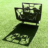 Металлическая дровница Лесная, фото 2