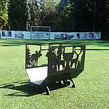 Металлическая дровница Лесная, фото 4