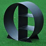 Металлическая круглая дровница 700, фото 2