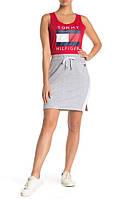 Женская оригинальная серая юбка Tommy Hilfiger