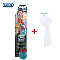 Oral-B Электрическая зубная щетка детская DB4.510 (принцессы) + колпачок