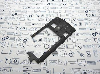 Средний корпус LG G3s D724 черный Сервисный оригинал с разборки
