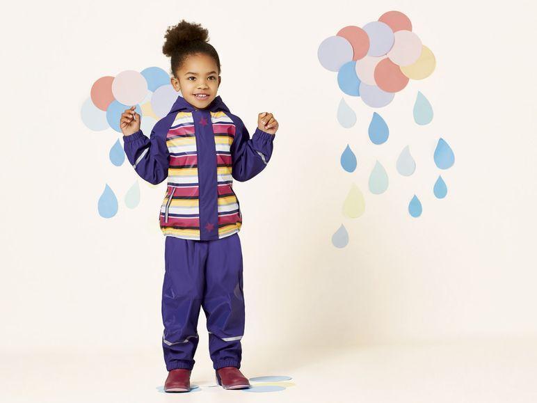 Костюм фиолетовый для девочки водонепроницаемый Lupilu р.98/104,  122/128см