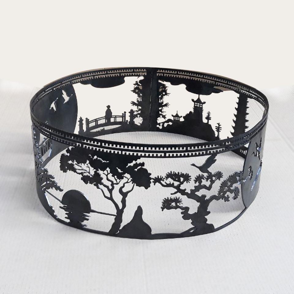 Очаг-кольцо Япония