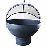 Очаг-полусфера с зольником и крышкой, фото 4