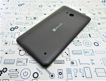 Задняя крышка Microsoft Lumia 640 черная Сервисный оригинал с разборки