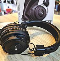 Bluetooth наушники с микрофоном Sonic Sound BE-20 черные