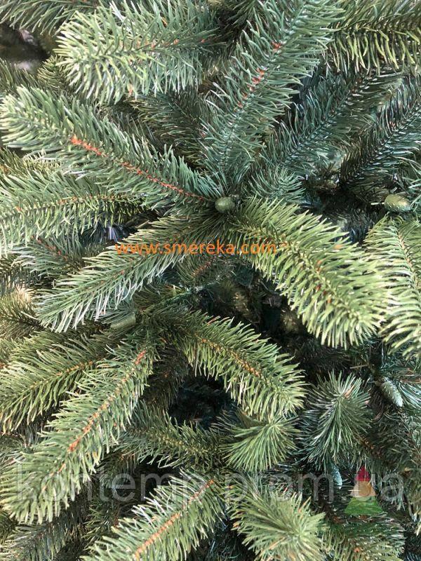 Лита штучна ялинка Карпатська зелена СМЕРЕКА, 210 см