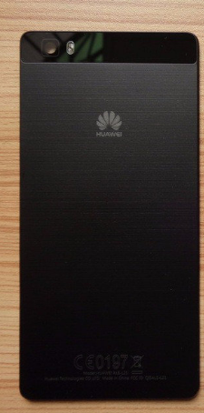 Корпус для смартфону Huawei P8 (GRA L09) чорного кольору