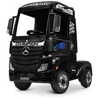 Детский электромобиль-фура- грузовик MERCEDES-BENZ ACTROS M 4208EBLR-2, черный