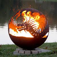 Очаг-шар Дракон 900