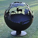 Очаг-шар Тайга 900, фото 3