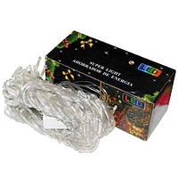 Электрогирлянда-сетка 480ламп LED, прозр. провод, 3,5х2м., цветная №26