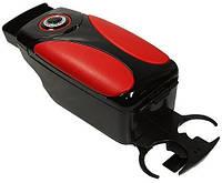 Подлокотник Vitol HJ48004B black+red+black