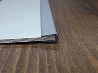Окантовочный 9х13мм, толщина 6 мм . Цвет серый 2мп