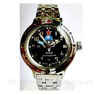 Мужские командирские наручные часы Амфибия  Восток  с автоподзаводом ВДВ 08