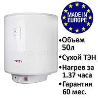 Водонагреватель Tesy Anticalc 50 л, сухой ТЭН 2х0,8 кВт GCV 504416D D06 TS2R